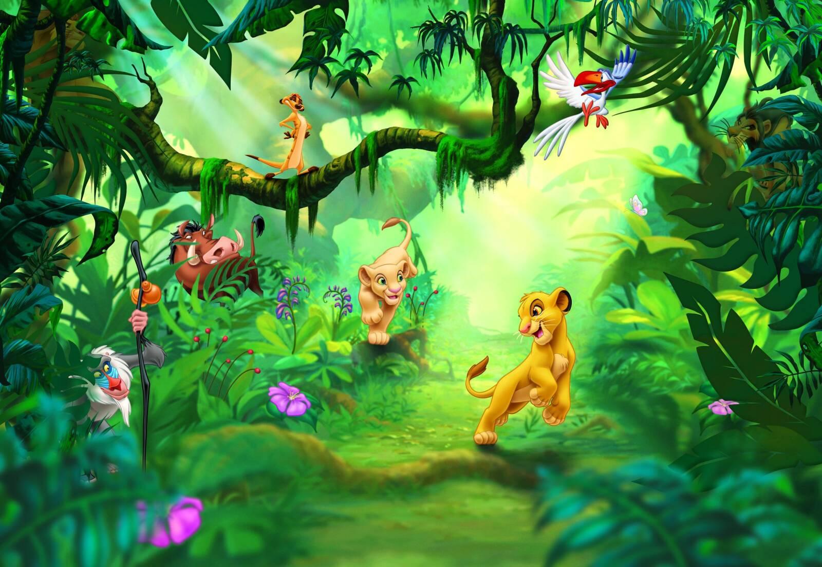 Fotooboi Komar Disney 8 475 Lion King Jungle Kupit V Kieve